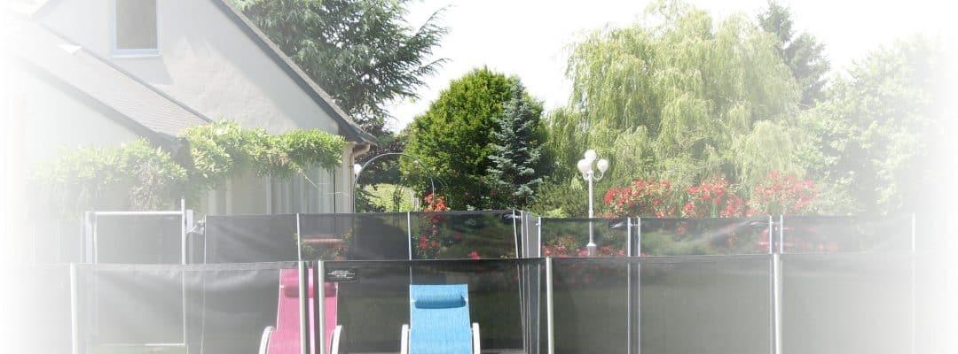 La piscine du Gîte Anjoué