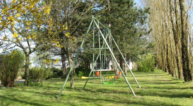 Le portique pour les enfants